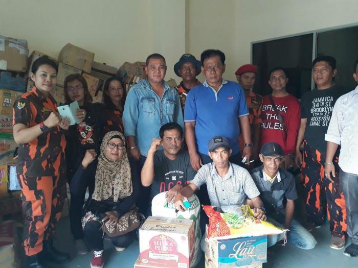 Bantuan Aceh Disalurkan MPC PP Kota Dumai