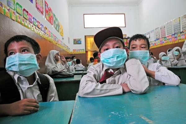 Asap Tebal di Dumai, Murid Sekolah Dipulangkan
