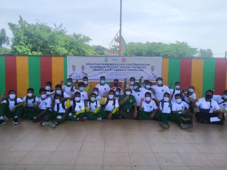 Laksanakan Identifikasi Bakat, Dispora Riau Cari Calon Atlet di Kota Dumai