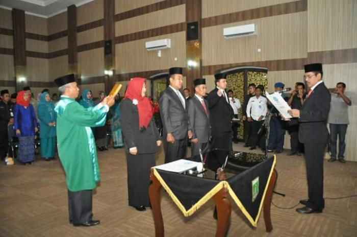 AKBP Thamrin Parulian Jabat Kepala BNNK Dumai
