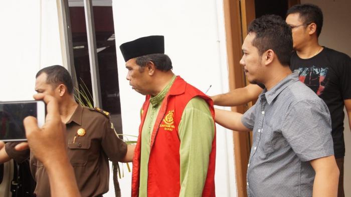Tiga Tersangka Korupsi BPBD Dumai Ditahan