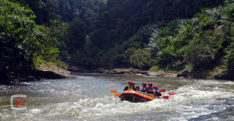 FAJI Kuansing Siap Mendulang Mendali Pada Arung Jeram Porprov X Riau 2022