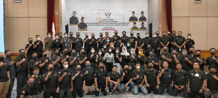 Tingkatkan Silaturahmi, 234 SC Korwil Riau Gelar Buka Puasa Bersama