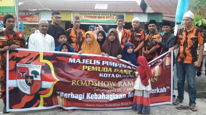 Roadshow Ramadhan MPC PP Dumai ke Panti Asuhan