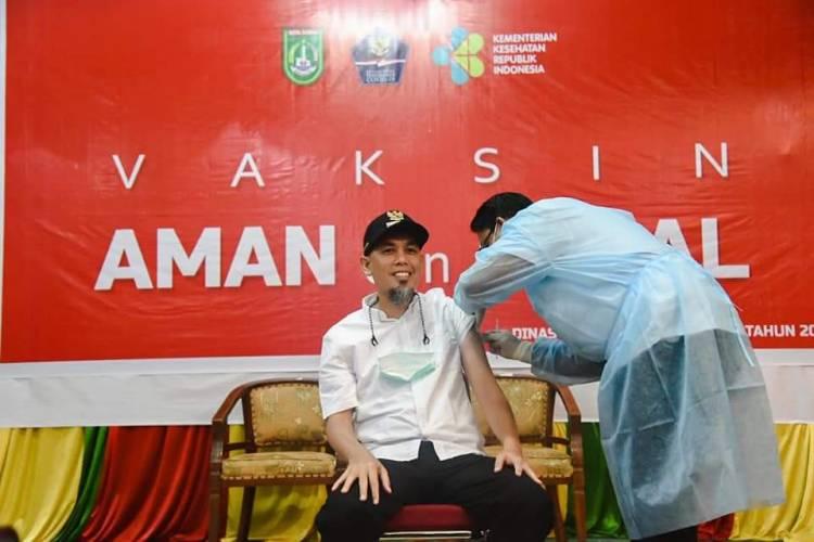 Paisal S.KM MARS: Pegawai Pemko Dumai Segera Ikuti Vaksinasi
