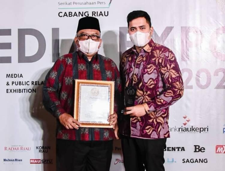Pemko Dumai Terima Penghargaan SPS Award 2021