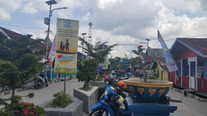 Kelurahan Laksamana Dumai Bertarung Lomba KB Kesehatan Tingkat Nasional