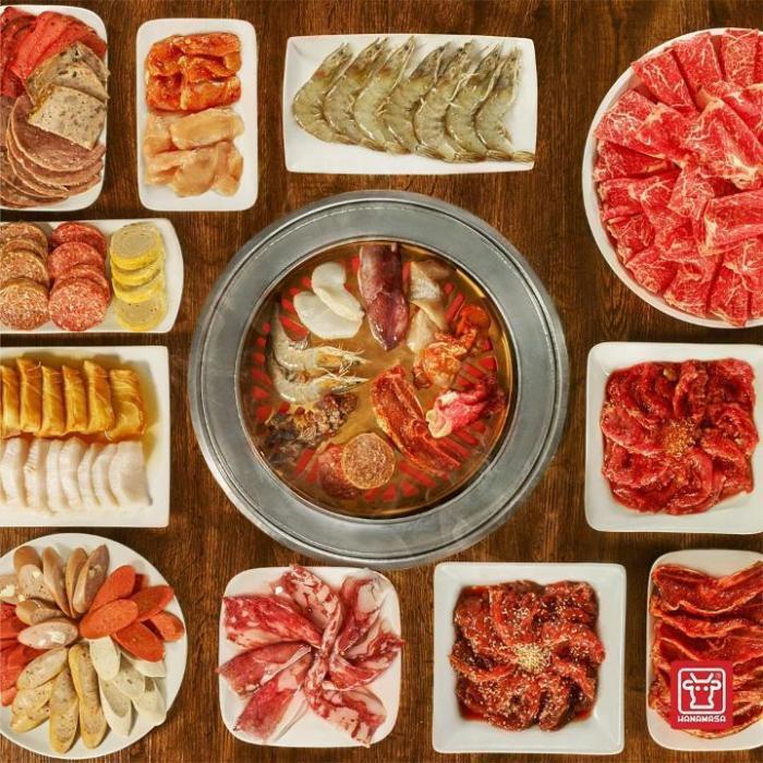 Makan Daging Sepuasnya di Hanamasa Kelapa Gading