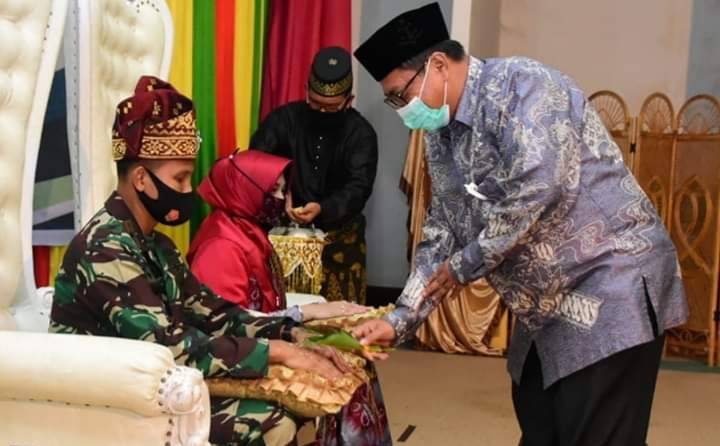Wakil Walikota Hadiri Tepuk Tepung Tawar Danrem 031 Wira Bima