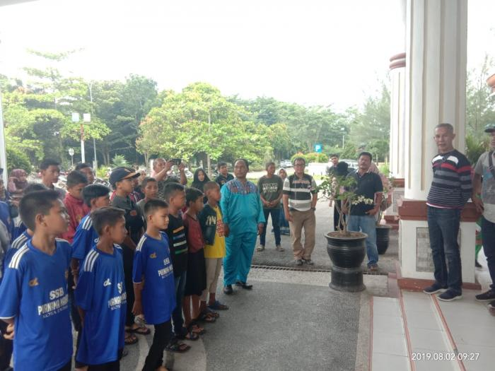 Ikuti Piala Menpora Cup U-12 Zona Riau, Dua Tim Dumai Berangkat ke Bangkinang