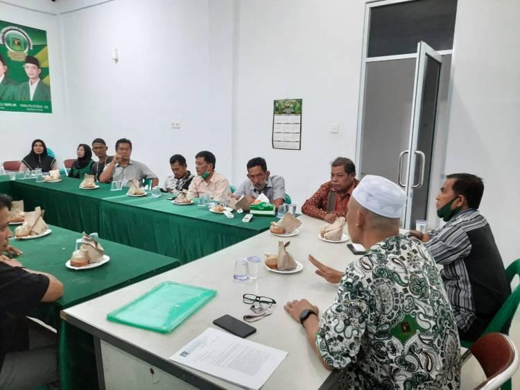 Panaskan Mesin Partai, PPP Dumai Konsilidasi Pemenangan Paisal - Amris