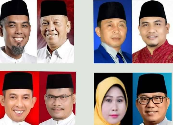 KPU Dumai Terima Berkas Empat Pasang Calon Kepala Daerah