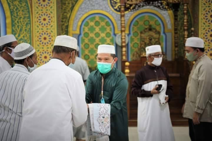 Wako Dumai Subuh Berjamaah, Ikuti Pengajian Jumat Barokah di Masjid Taqwa Dumai