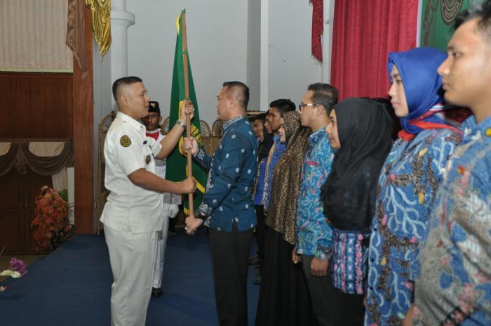 Pengurus Purna Paskibraka Indonesia Kota Dumai Dilantik